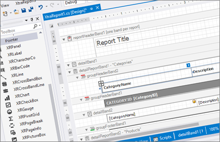 main-page-reporting-visual-studio