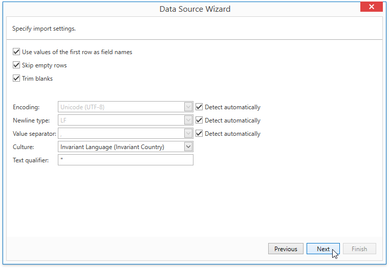 WpfReportWizard_Excel_CsvImportSettings