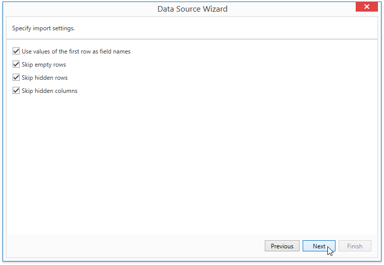WpfReportWizard_Excel_XlsImportSettings