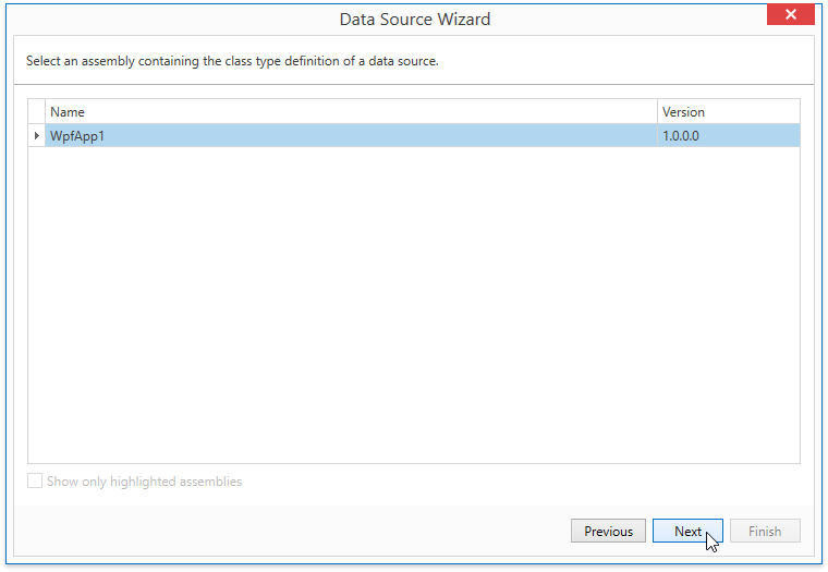 WpfReportWizard_Object_SelectAssembly