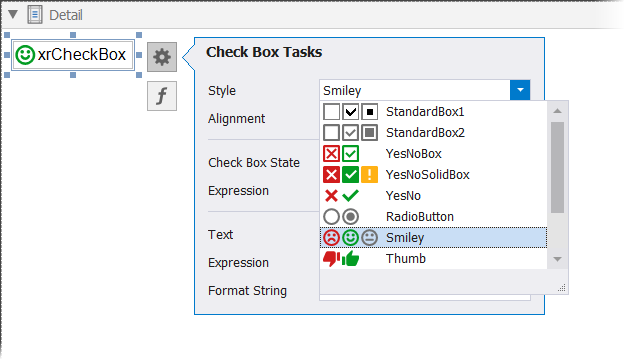 XRCheckBox Class   Reporting   DevExpress Documentation