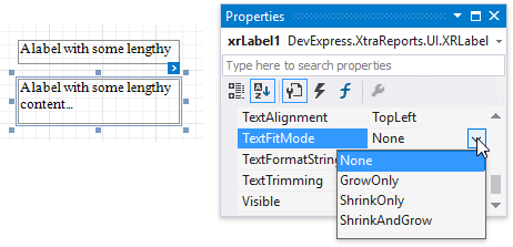 xrlabel-text-fit-mode-properties-window