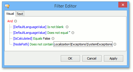 LocalizationToolCustomFilter