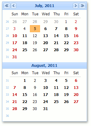 SchedulerListEditor_Web_DateNavigator