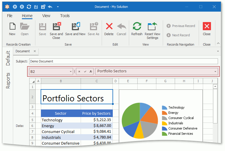 Formula Bar in a WinForms application