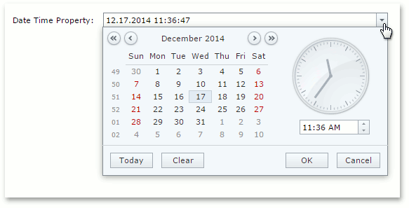 WebCalendarPropertyEditor